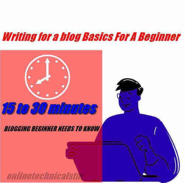 Online Simple guide Blogging Basics For A Beginner