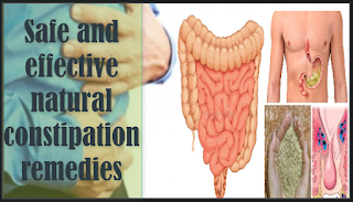 Safe and effective natural constipation remedies