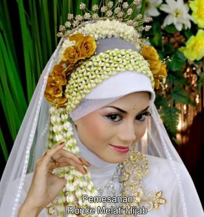 Ronce Melati Hijab Kerudung Muslimah