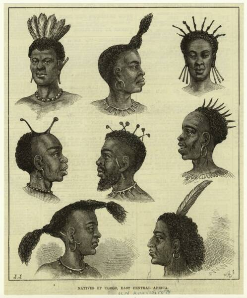 African Natives of Ugogo, east central Africa Gogo African People