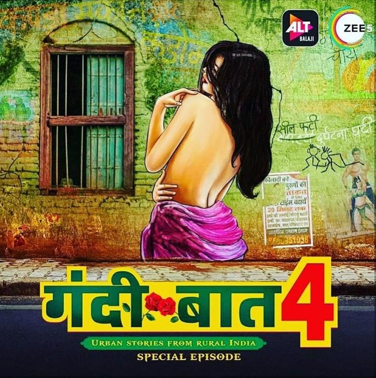 18+ Gandii Baat Season 4 (2020) Hindi ALTBalaji Web Series (Ep 1-5) 500MB HDRip