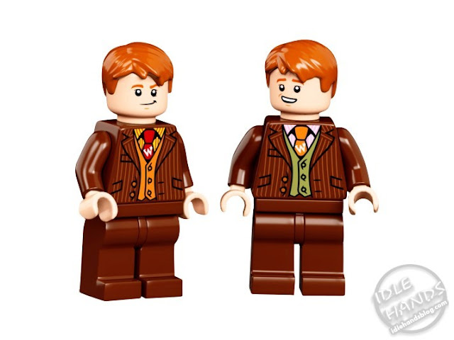 LEGO Harry Potter Diagon Alley Set Minifigures