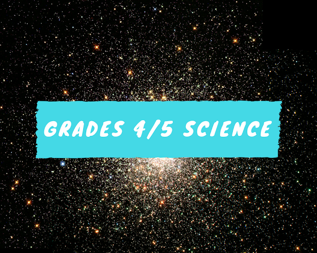 GRADE 4/5 ONTARIO SCIENCE AND TECHNOLOGY SIDE BY SIDE COMPARISONS