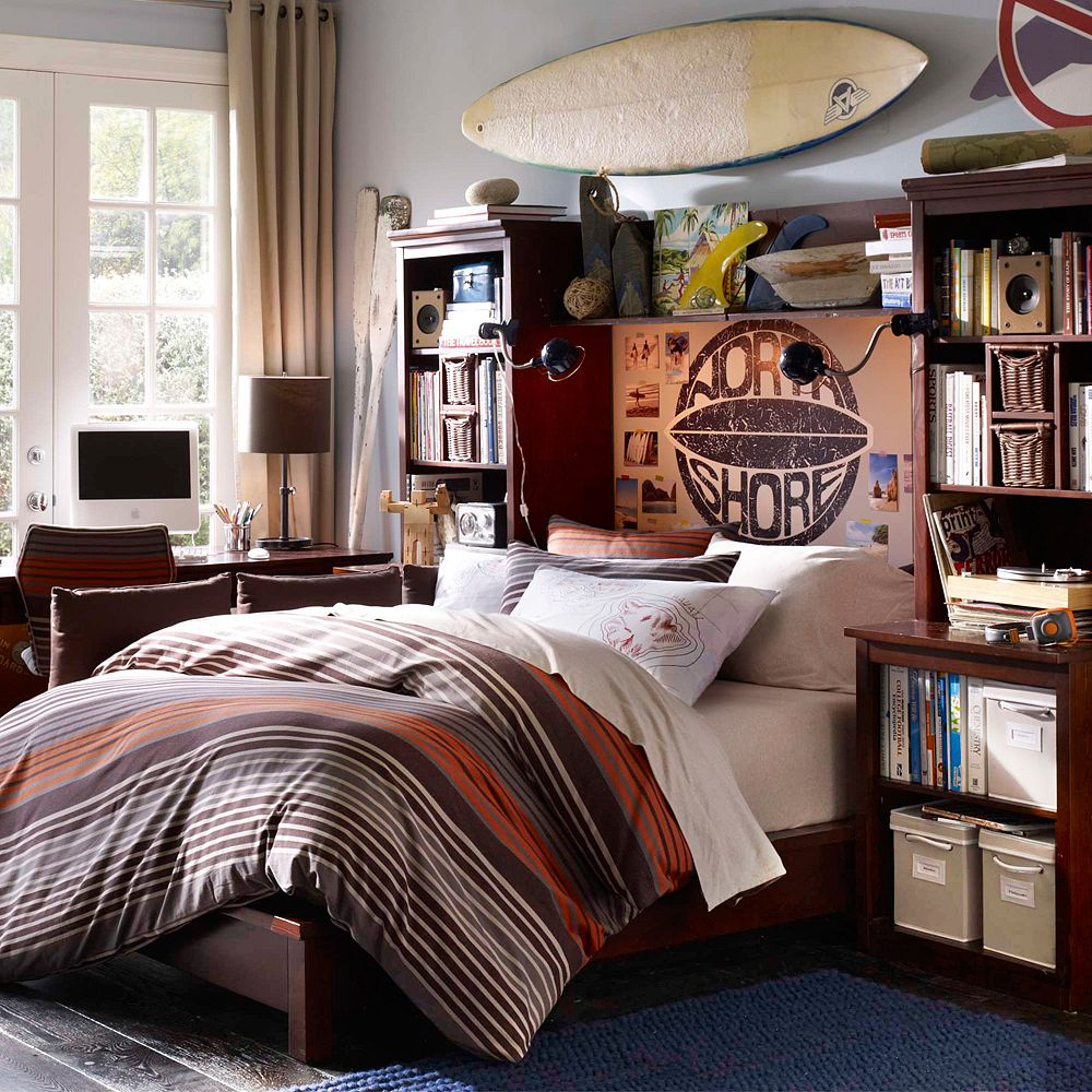 teen boys bedroom decor. great bedroom awesome wood bunk beds with