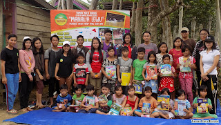 aktivitas relawan taman baca baraoi