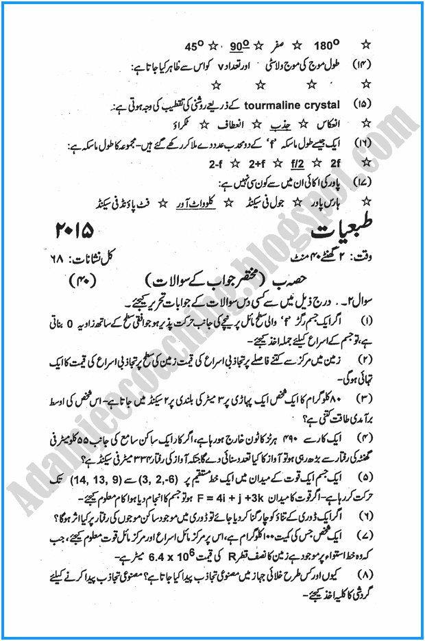xi-physics-urdu-past-year-paper-2015