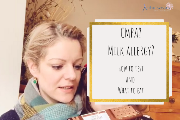 CMPA Milk allergy how to test what can you eat