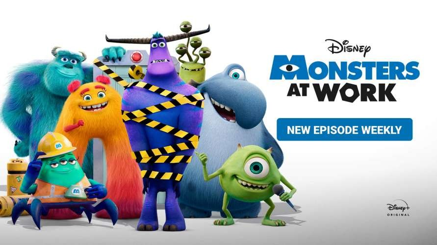 Monsters at Work (2021) WEBDL Dubbing Indonesia
