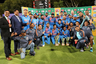 India tour of South Africa 3-Match T20I Series 2018