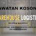 JAWATAN KOSONG WAREHOUSE LOGISTICS DI SELURUH MALAYSIA
