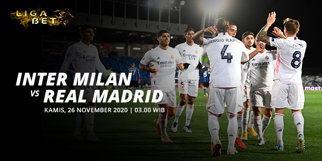 PREDIKSI PARLAY INTER MILAN VS REAL MADRID KAMIS 26 NOVEMBER 2020