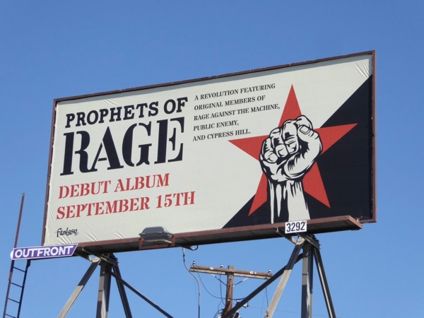Prophets of Rage debut album billboard