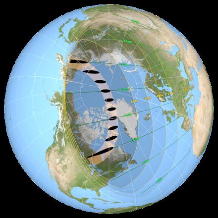 """""""Δαχτυλίδι της Φωτιάς"""" : Έρχεται η εντυπωσιακή έκλειψη ηλίου στις 10 Ιουνίου"""