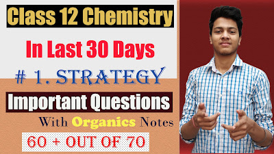 how to cover chemistry in last 30 days 95