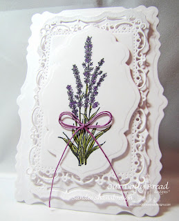 Stamps - Our Daily Bread Designs Lavender, ODBD Custom Antique Labels & Border Dies