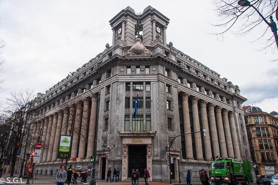 Edificio del BBVA en Bilbao