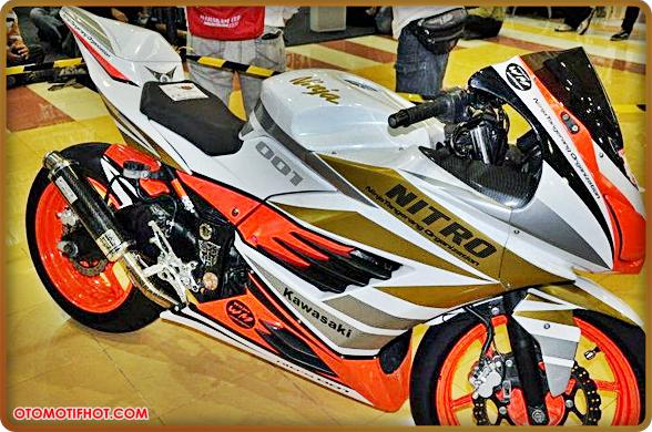 Modifikasi Apik Motor Ninja 250R