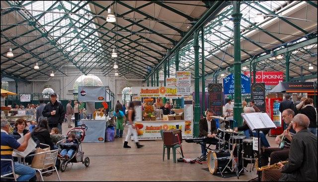 Что посмотреть в Белфасте бесплатно: рынок Сент-Джордж