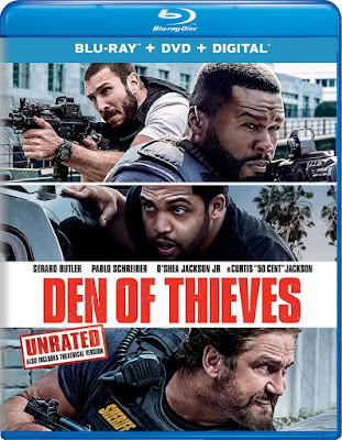 Den of Thieves (2018) UNRATED Dual Audio [Hindi – Eng] 720p BluRay ESub x265 HEVC 700Mb