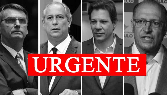 Na reta final das eleições, site divulga lista de processos dos candidatos à presidência