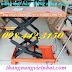 Xe nâng bàn 350kg nâng cao 1.5m giá rẻ call 0984423150 Huyền