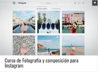 Curso de Fotografía y composición para Instagram