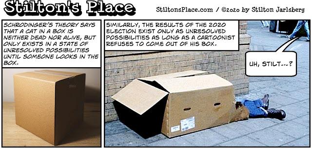 stilton's place, stilton, political, humor, conservative, cartoons, jokes, hope n' change, 2020 election, trump, biden