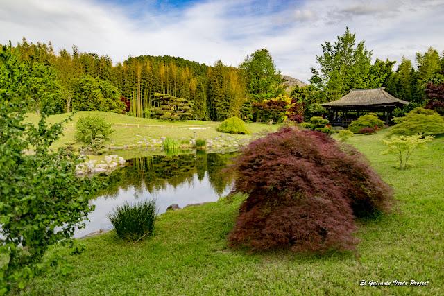 Pabellón del Fénix del Valle del Dragón, la Bambouseraie en Cévennes, Francia por El Guisante Verde Project