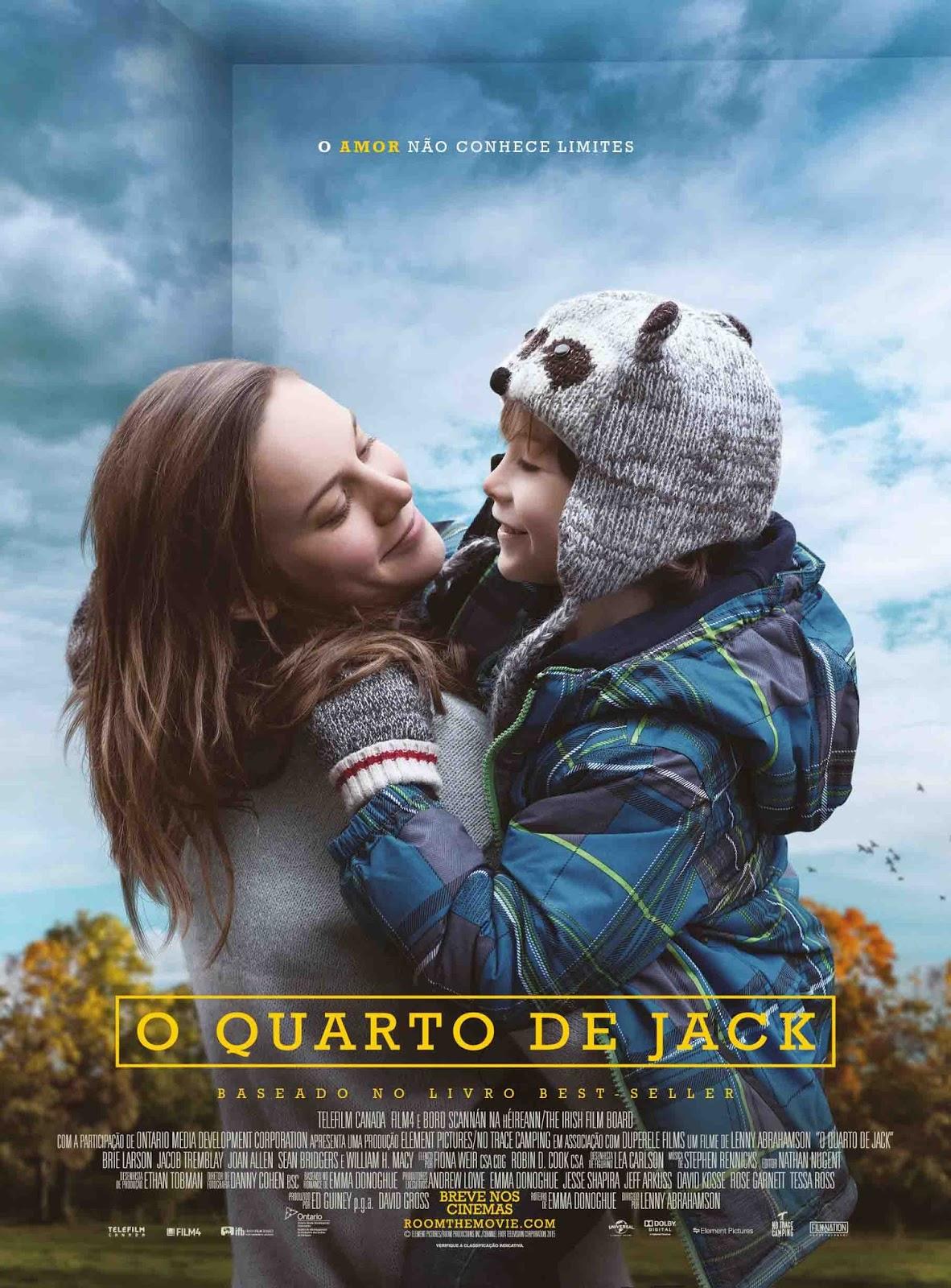 O Quarto de Jack Torrent – Blu-ray Rip 720p Legendado (2016)