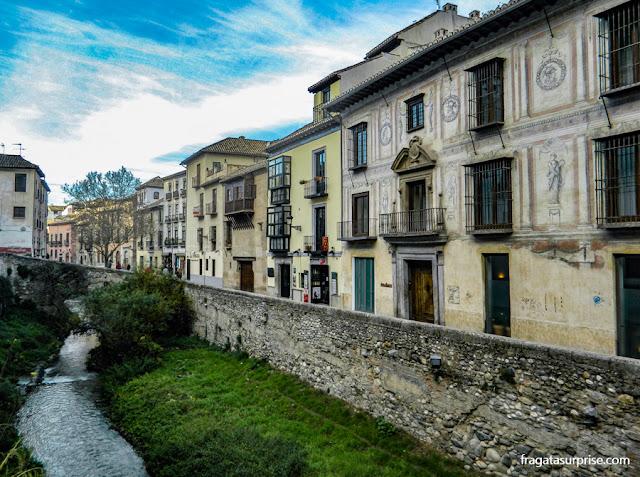 Carrera del Darro, Granada, Andaluzia