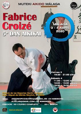 Próximo curso de Fabrice Croizé en Málaga