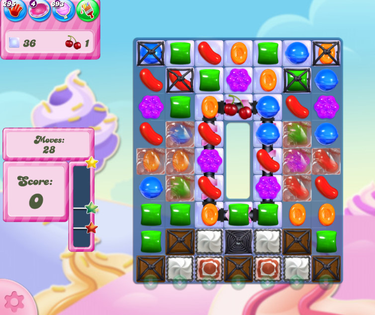 Candy Crush Saga level 2836