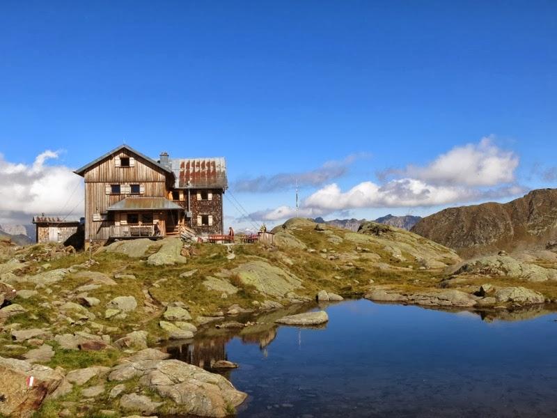 Die wunderschön gelegene Bremer Hütte