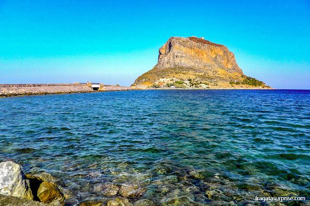 Rochedo de Monemvasia, Grécia
