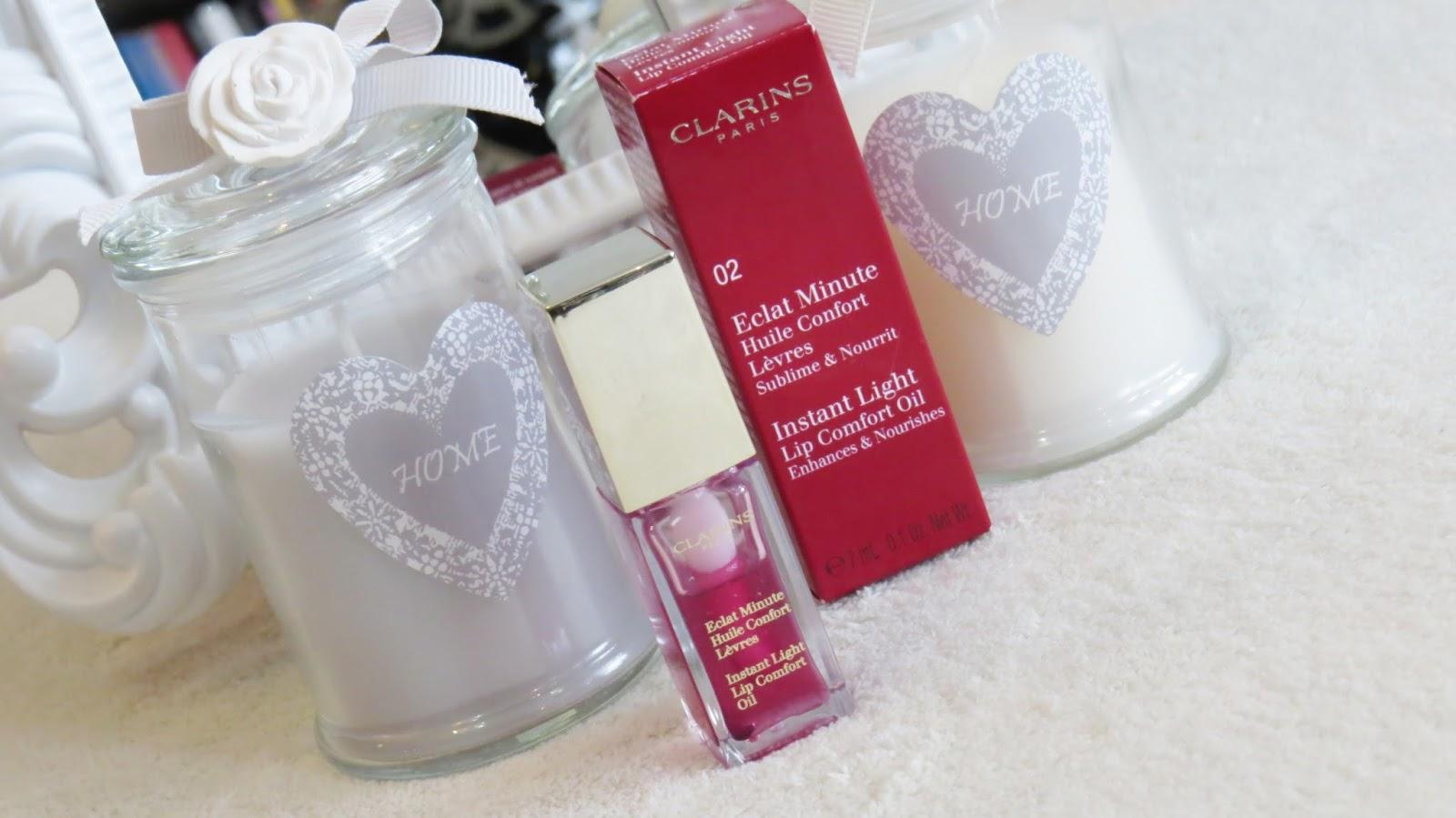 Clarins Instant Light Lip Comfort Oil- regeneracja i odżywienie naszych ust
