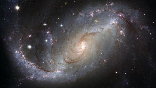 Localizan ráfagas rápidas de radio en una zona inusual de una galaxia cercana