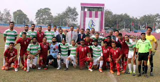 Punjab Police Vs BSF to play 64th B N Mullik Memorial All India Police Football Championship final