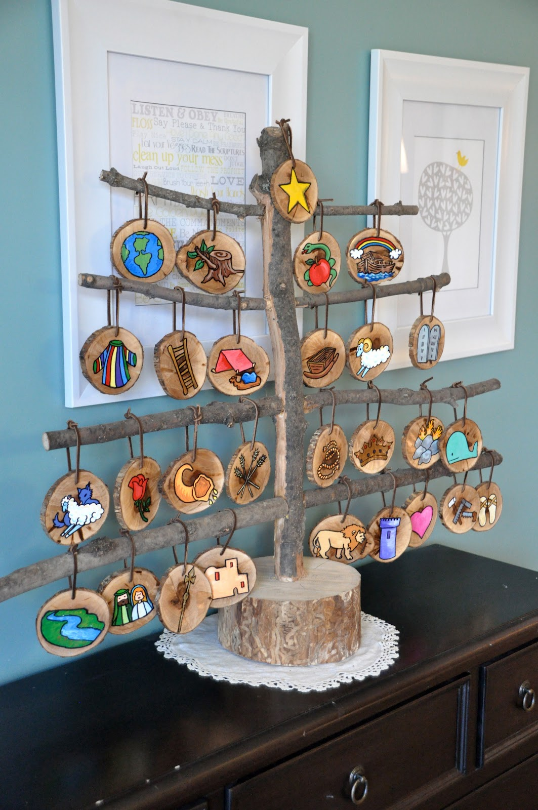 Christmas Craft Session Jesse Tree Printables Kit