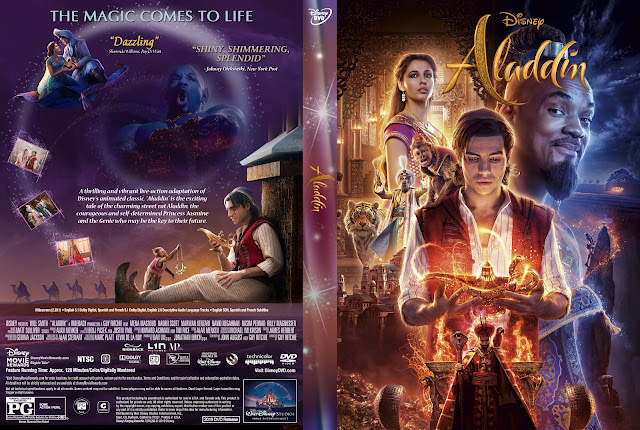 Aladdin DVD Cover