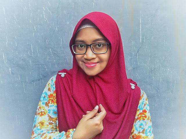 kreasi hijab instan modern