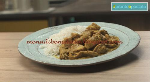 Pronto e postato - Pollo al curry ricetta Benedetta Parodi
