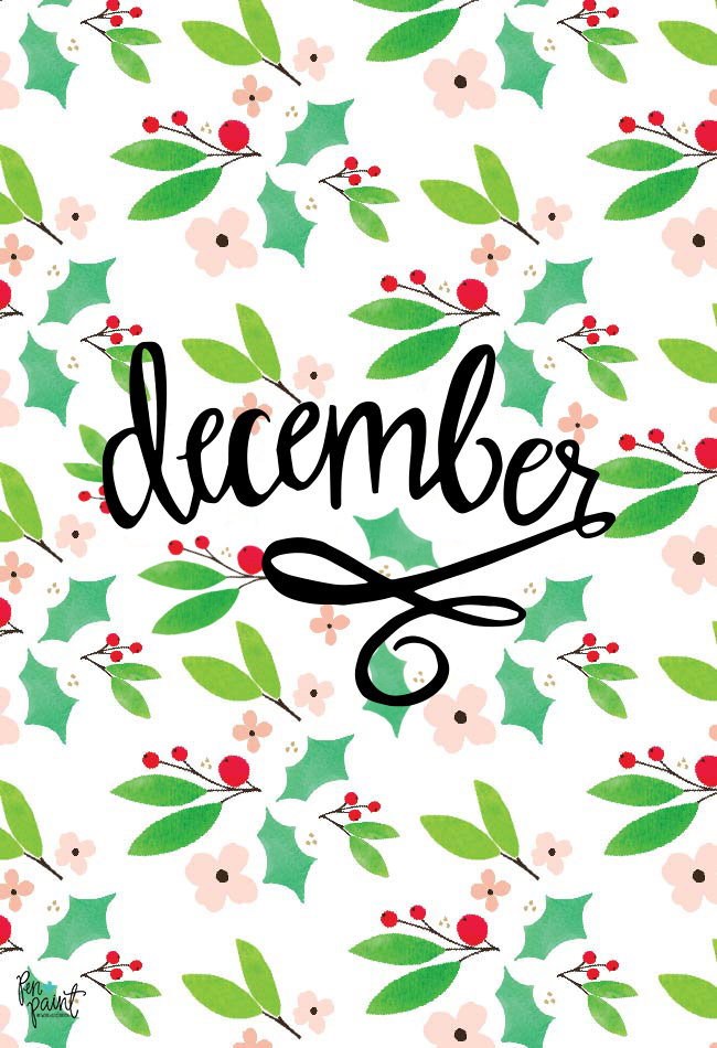 Happy December I Hope This Month Is Filled With Cheer For You And Your Family Months Free Desktop Wallpaper Ive Created A Festive