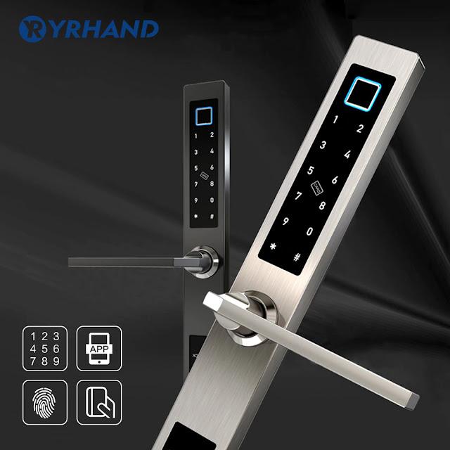 European waterproof biometric fingerprint door lock system