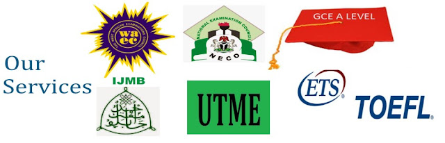 Our Services, IJMB, ANBC, JUPEB