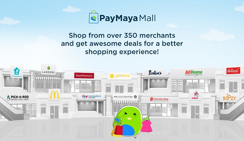 PayMaya expands mobile shopping access to over 350 brands in PayMaya Mall