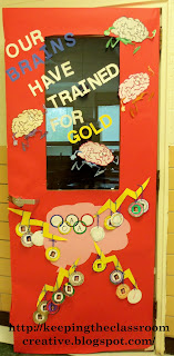 Keeping the Classroom Creative: Displays for Gold