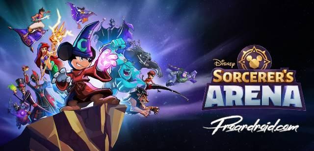 تحميل لعبة  Disney Sorcerer's Arena APK النسخة المهكرة للاجهزة الاندرويد
