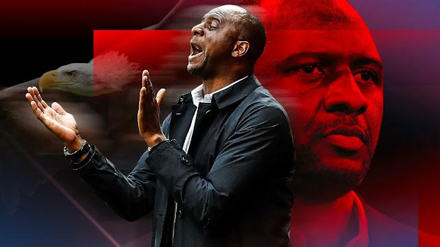 Patrick Vieira new Crystal Palace manager