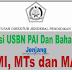 Kisi-Kisi USBN PAI dan Bahasa Arab MI, MTs, MA, Tahun Pelajaran 2019/2020