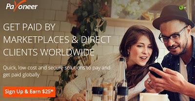 Cara Membuat Kartu Payoneer Untuk Pembayaran Online dan Adsense